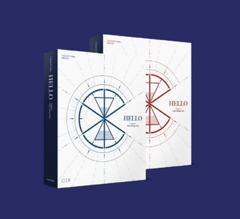 CIX - 3rd EP Album : Hello, Strange Time (Korean Edition)