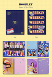Weeekly - Mini Album Vol. 1 : We are (Korean Edition)