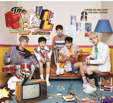 N.Flying - Mini Album Vol. 2 - THE REAL: N.Flying (Korean Edition)
