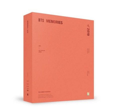 BTS (방탄소년단) BTS MEMORIES OF 2019 (6DVD) (Korean Edition) FREE SHIPPING