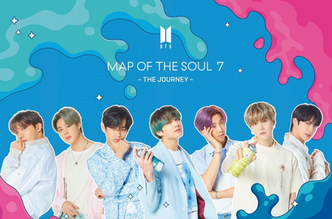 BTS - MAP OF THE SOUL : 7 -THE JOURNEY- (Type B / CD+DVD) (Limited Japanese Edition)