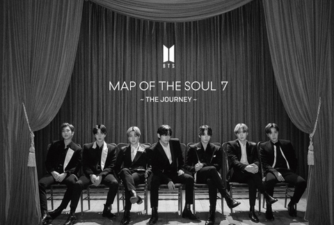 BTS - MAP OF THE SOUL : 7 -THE JOURNEY- (Type B / CD+BLUE-RAY) (Limited Japanese Edition)