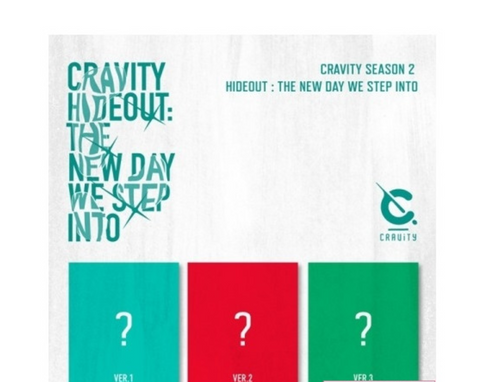 CRAVITY - SEASON 2 - HIDEOUT : THE NEW DAY WE STEP INTO (Korean Edition) *FREE POSTER
