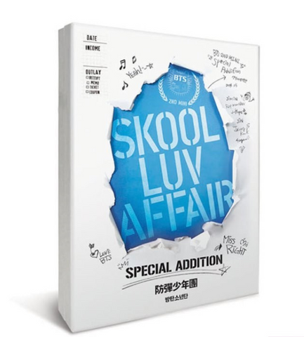BTS - Mini Album Vol. 2 - SKOOL LUV AFFAIR (CD+2DVD) (Korean Limited Edition)