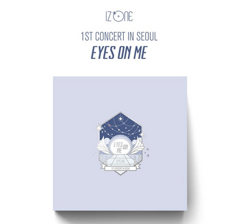 IZ*ONE - IZ*ONE 1st CONCERT IN SEOUL : EYES ON ME (3DVD) (Korean Edition) * FREE POSTER