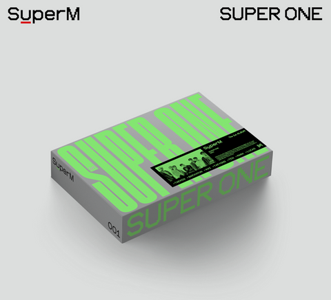 SuperM - The 1st Album : Super One (Version One)(US Edition)