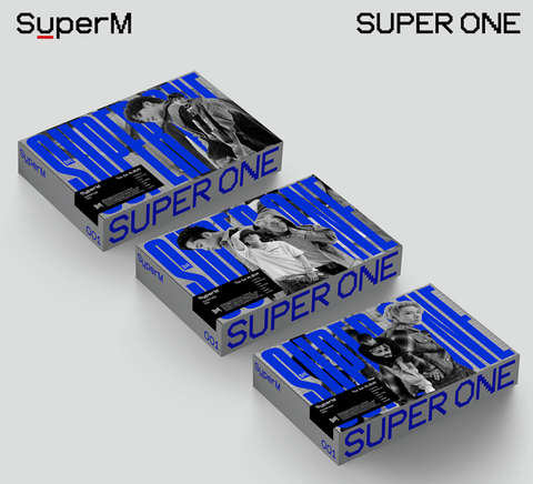 SuperM - The 1st Album : Super One (Version Unit A / TAEMIN & TAEYONG)(US Edition)
