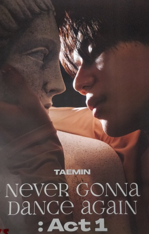 "Official Poster TAEMIN - ""NEVER GONNA DANCE AGAIN"" - [INNOCENT] VERSION"