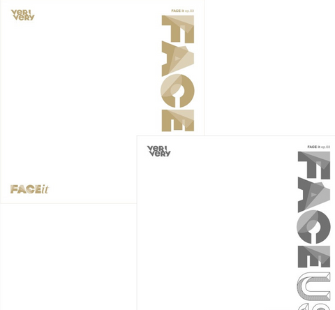 VERIVERY - Mini Album : FACE US (Korean Edition)
