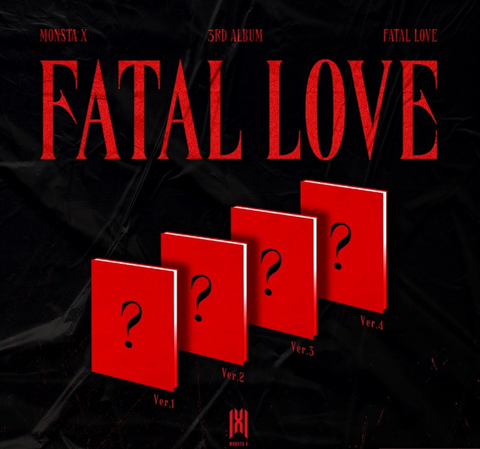 Monsta X - Vol. 3 : FATAL LOVE (Korean Edition) * PREORDER BENEFITS