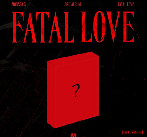 Monsta X - Vol. 3 : FATAL LOVE (AIR KiT) (Korean Edition)