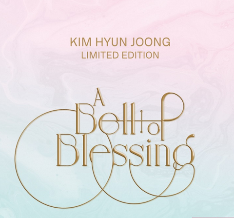 Kim Hyun Joong - A Bell of Blessing (ALBUM + DVD) (Korean Limited Edition) FREE POSTER*