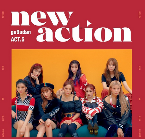 Gugudan - Mini Album Vol. 3 - new action (Korean Edition)