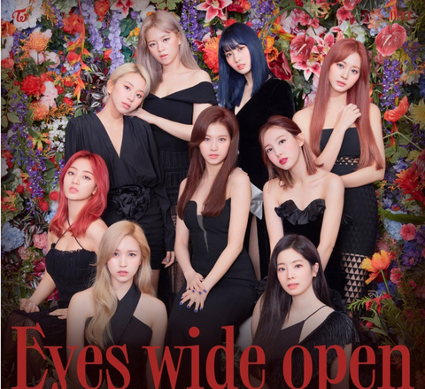 TWICE - Vol. 2 : Eyes wide open (Korean Edition)
