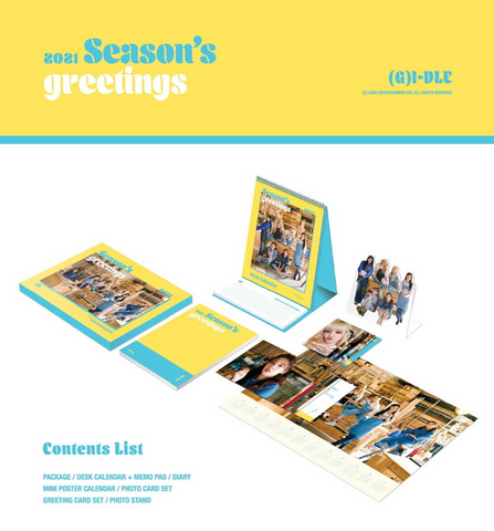 (G)I-DLE - 2021 Season's Greetings (Korean Edition)