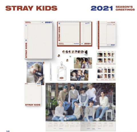 Stray Kids - 2021 Season's Greetings (Korean Edition)