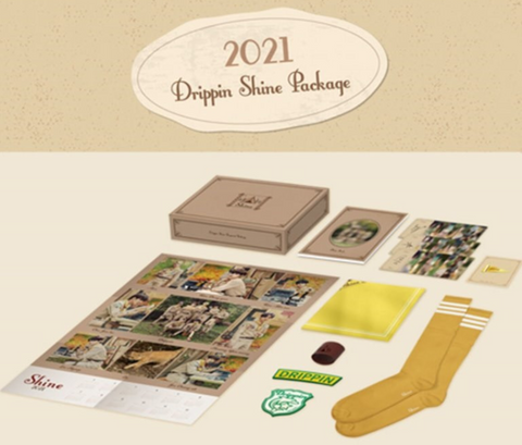 DRIPPIN - 2021 DRIPPIN SHINE PACKAGE (Korean Edition)