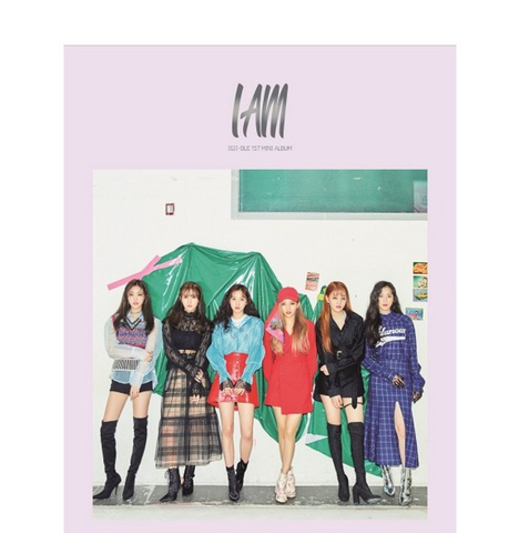 (G)I-DLE - Mini Album Vol. 1 - I AM (Korean Edition)