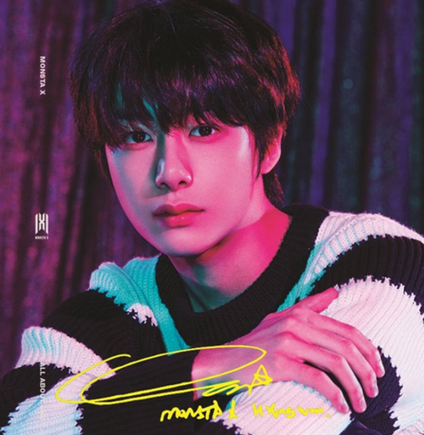 Monsta X - All About Luv (Full Art / HYUNGWON - Standard Casemade Book 4) (Korean edition)