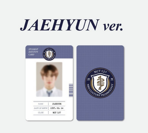 NCT 127 - 2021 Back to School Kit (Version JAEHYUN) (Korean Edition)