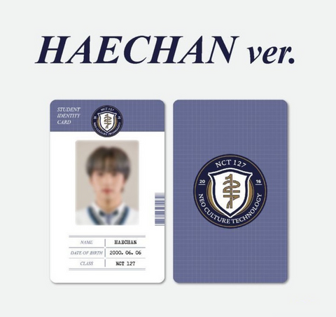 NCT 127 - 2021 Back to School Kit (Version HAECHAN) (Korean Edition)