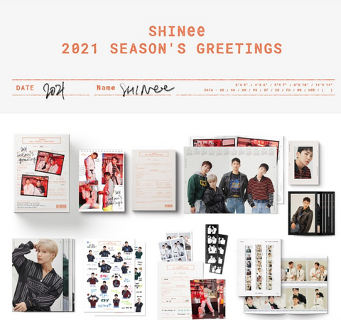 SHINee - 2021 Season's Greetings (Korean Edition)