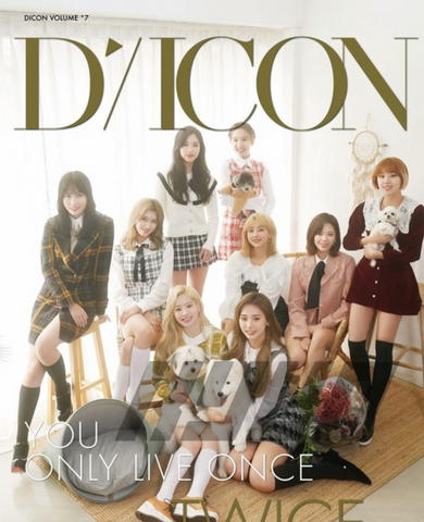 TWICE - DICON Vol. 7 - TWICE Photobook : YOU ONLY LIVE ONCE (+BONUS) (Japanese Edition)