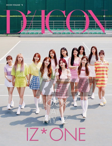 IZ*ONE - DICON Vol. 8 - IZ*ONE Photobook : LOOK AT MY iZ (+BONUS) (Japanese Edition)