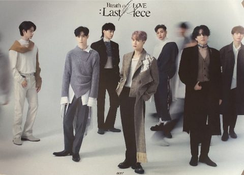 Official Big Poster GOT7 - BREATH OF LOVE : LAST PIECE - [A] VERSION