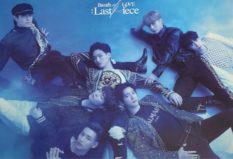 Official Big Poster GOT7 - BREATH OF LOVE : LAST PIECE - [B] VERSION