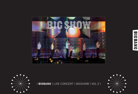 Big Bang - 2010 Big Bang Concert : Big Show (2 DVDs) (Japanese Version) UNWRAPPED *