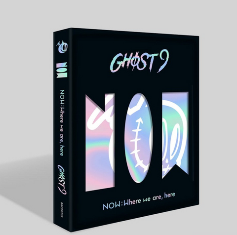 GHOST9 - Mini Album Vol. 3 - NOW : Where we are, here (Korean Edition) FREE POSTER *
