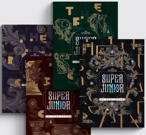 Super Junior - Vol. 10 : THE RENAISSANCE (The Renaissance Style) (Korean Edition) FREE POSTER *