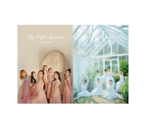 OH MY GIRL (오마이걸) 1st Album - The Fifth Season (Korean Edition)