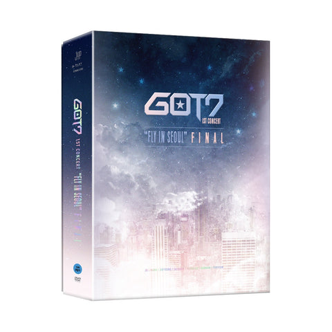 GOT7 (갓세븐) GOT7 1st Concert FLY IN SEOUL FINAL (3DVD+PHOTOBOOK) (Korean)