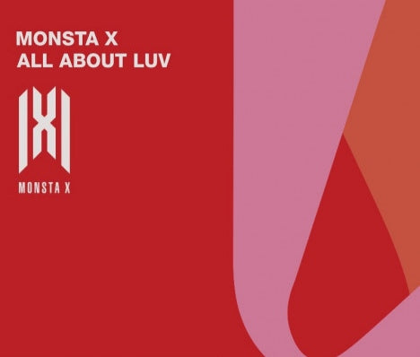 Monsta X - All About Luv (Full Art / SHOWNU - Standard Casemade Book 7) (Korean edition)