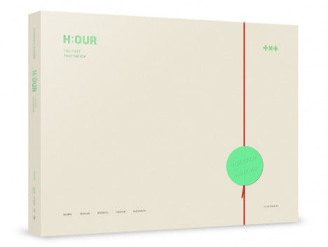 TXT - TOMORROW X TOGETHER THE FIRST PHOTOBOOK H:OUR (Korean edition)