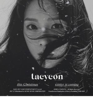 TAEYEON (태연) Winter Album This Christmas - Winter Is Coming (Korean)