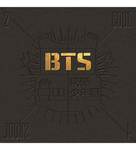 BTS (방탄소년단) 1st Single - 2 Cool 4 Skool (Korean Edition)