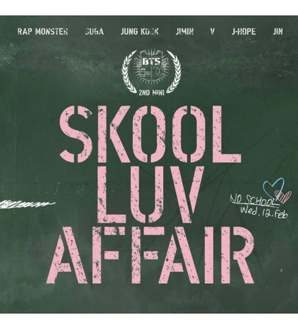 BTS (방탄소년단) 2nd mini albumSkool luv AffairFlight Log Departure CD