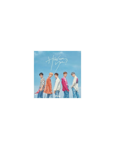 N.Flying (엔플라잉) Mini Album Vol. 4 - HOW ARE YOU? (Korean Edition)