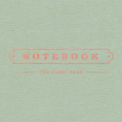 Park Kyung (박경) Mini Album Vol. 1 - Notebook (Korean)