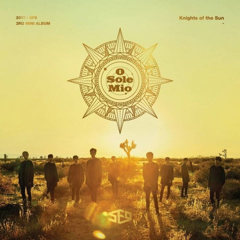SF9 (에스에프나인) Mini Album Vol. 3 - Knights of the Sun (Korean)