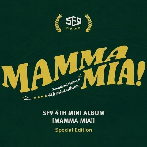 SF9 (에스에프나인) Mini Album Vol. 4 - Mamma Mia! (Special Edition) (Korean)