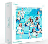TWICE (트와이스) Mini Album Vol. 2 - PAGE TWO (PINK or MINT Version) (Korean edition)
