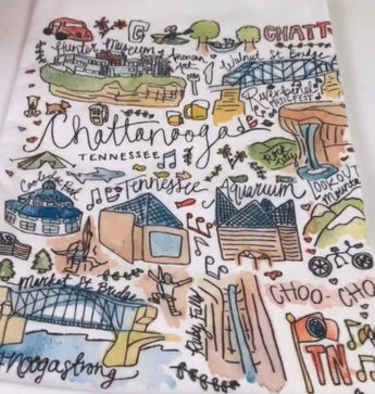 Chattanooga Dish towel