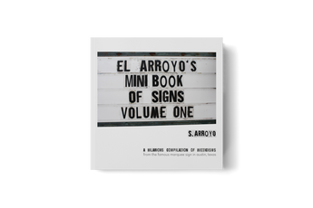El Arroyo's Mini Book of Signs 1, 2, and 3