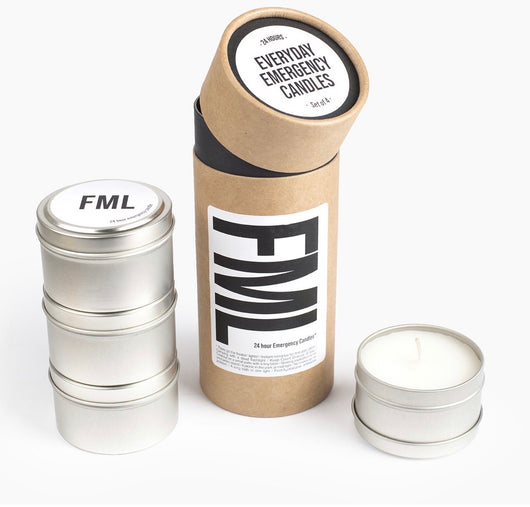 FML - everyday emergency candles