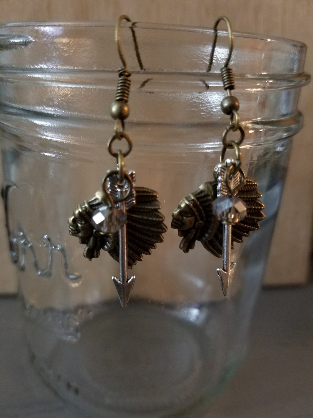 Chief Arrow Earrings