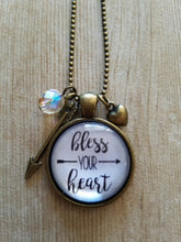 "Bless Your Heart - 1"" Round"